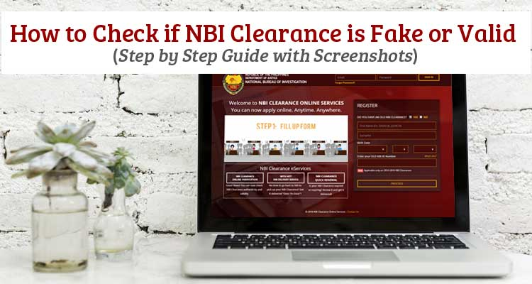 How to Check if NBI Clearance is Fake or Valid