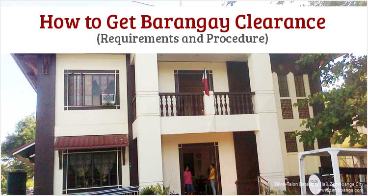 How To Get Barangay Clearance Philippine Clearances