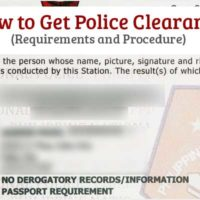 How to Get Police Clearance