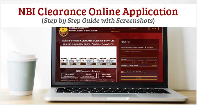 NBI Clearance Online Application