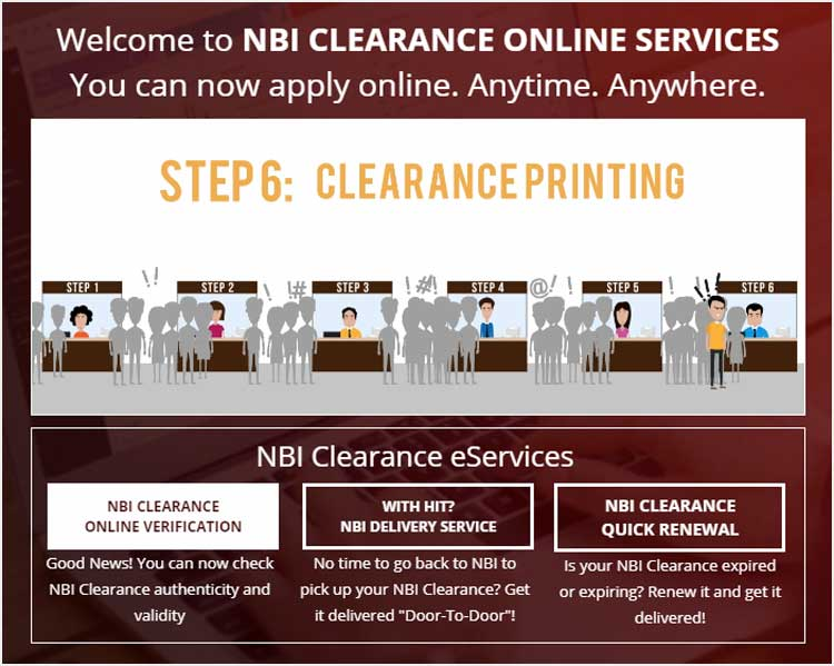 Step 2 - NBI Clearance Online Verification