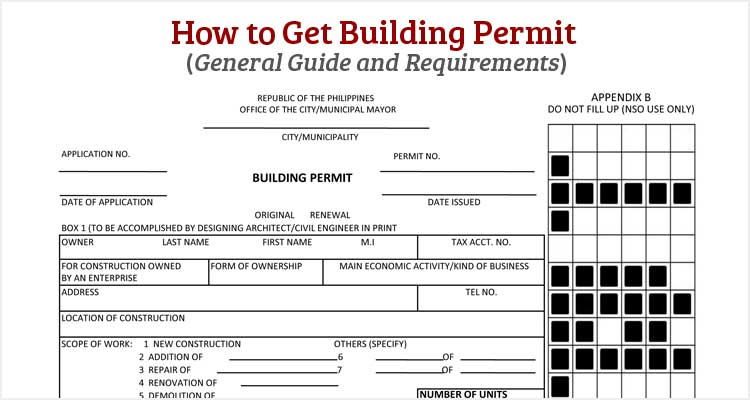 how to get building permit in the philippines