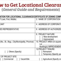 How to Get Locational Clearance