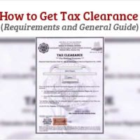 How to Get Tax Clearance