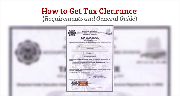 How to Get Tax Clearance - Philippine Clearances