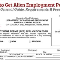 How to Get Alien Employment Permit